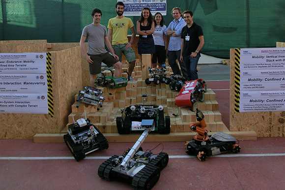 IEEE Robotics and Automation Society (IEEE-RAS) Safety, Security and Rescue Robotics (SSRR) Summer School