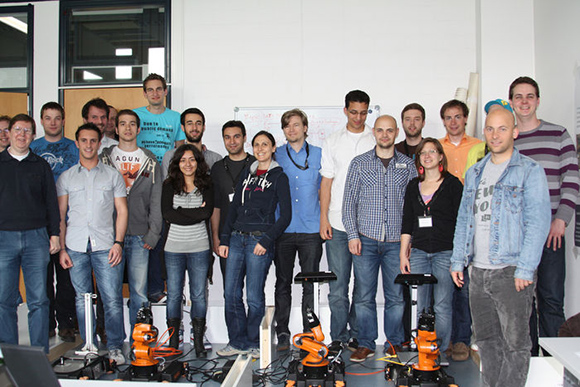 CogRobo Lab visiting RoboCup@Work Camp at Bonn-Rhine-Sieg University of Applied Sciences